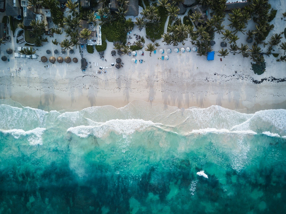 Tulum, Mexico Aerial Photography