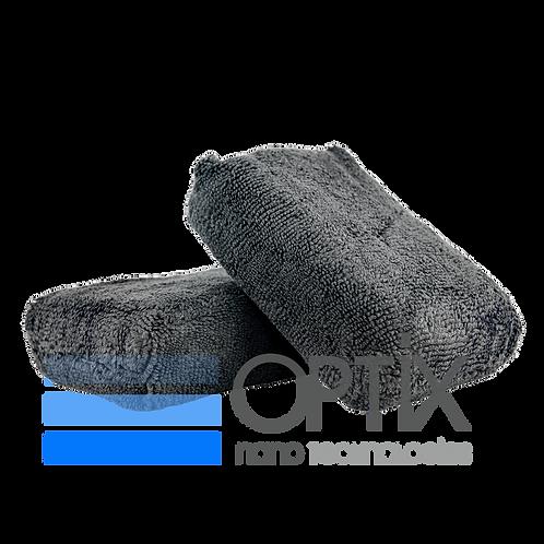 OPTiX Premium Workhorse-Grade Black Microfibre Applicator (pack of 2)