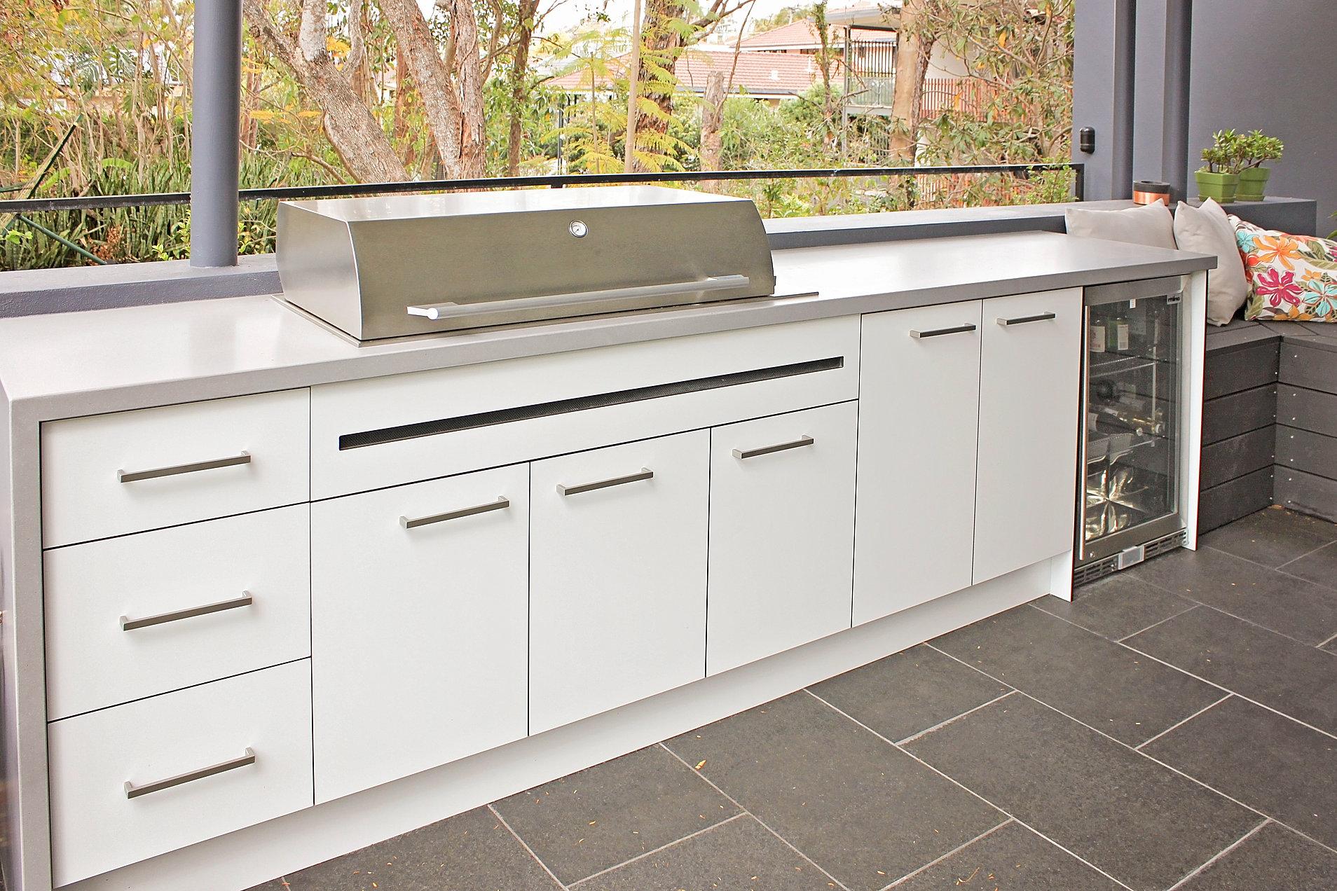 Outdoor Kitchen Cabinets Brisbane Concept Outdoor Kitchens Home Outdoor Kitchens Brisbane