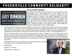 Pennsylvania State Senator Andy Dinniman