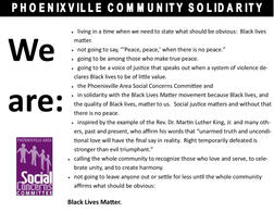 Phoenixville Area Social Concerns Committee