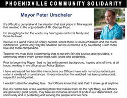 Phoenixville Mayor Peter Urscheler