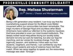 Rep. Melissa Shusterman