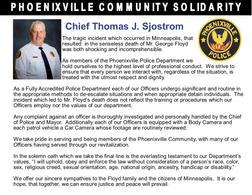 Phoenixville Chief Of Police Thomas J. Sjostrom