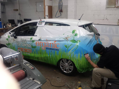 Did you know that over 90% of People Notice Vehicle Wraps?