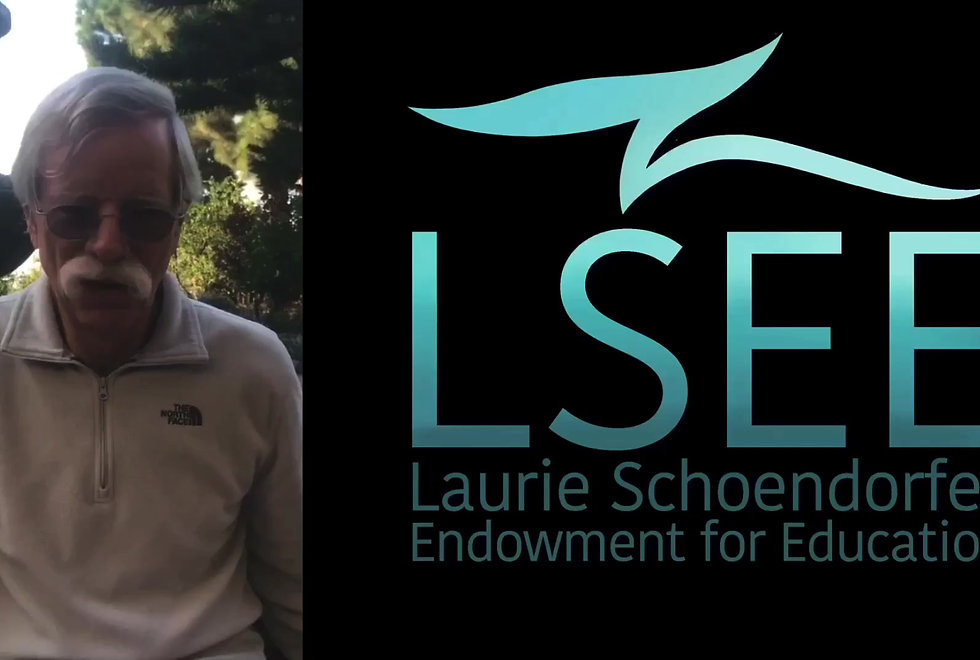 Introduction video to the Laurie Schoendorfer Endowment for Education. Learn about our founders, background, mission, method, and scholars.