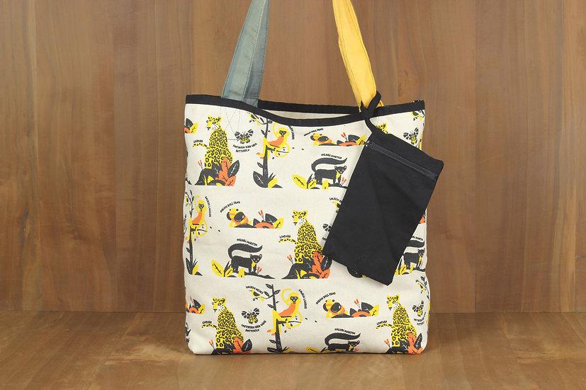 Yellow Life Tote Bag