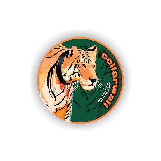 'Collarwali' Tigress Fridge Magnet