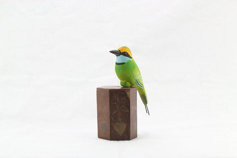 Papier Mâché - Green Bee-eater