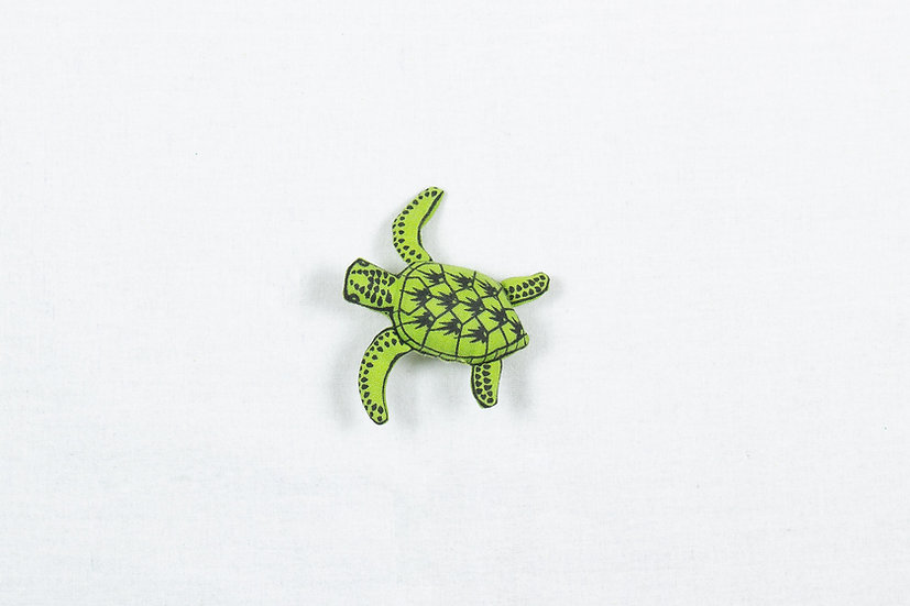 Shelly, the Sea Turtle Brooch