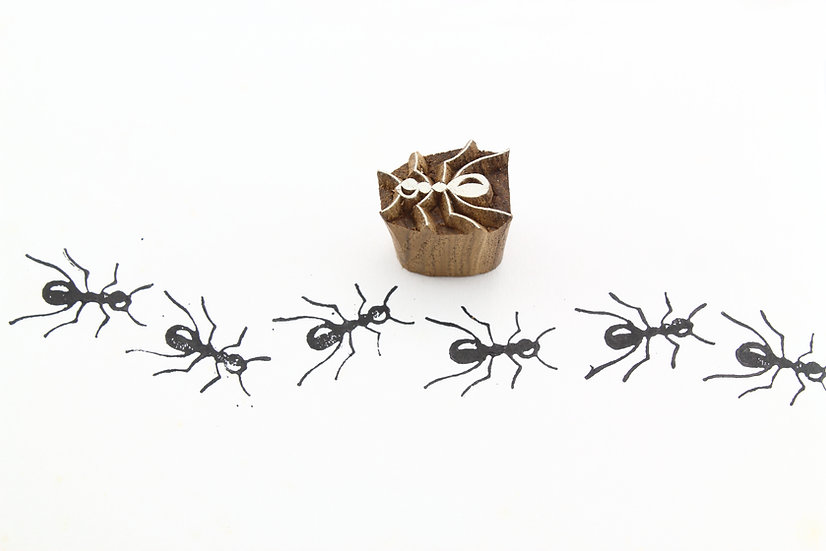 Black Ant Wooden Stamp