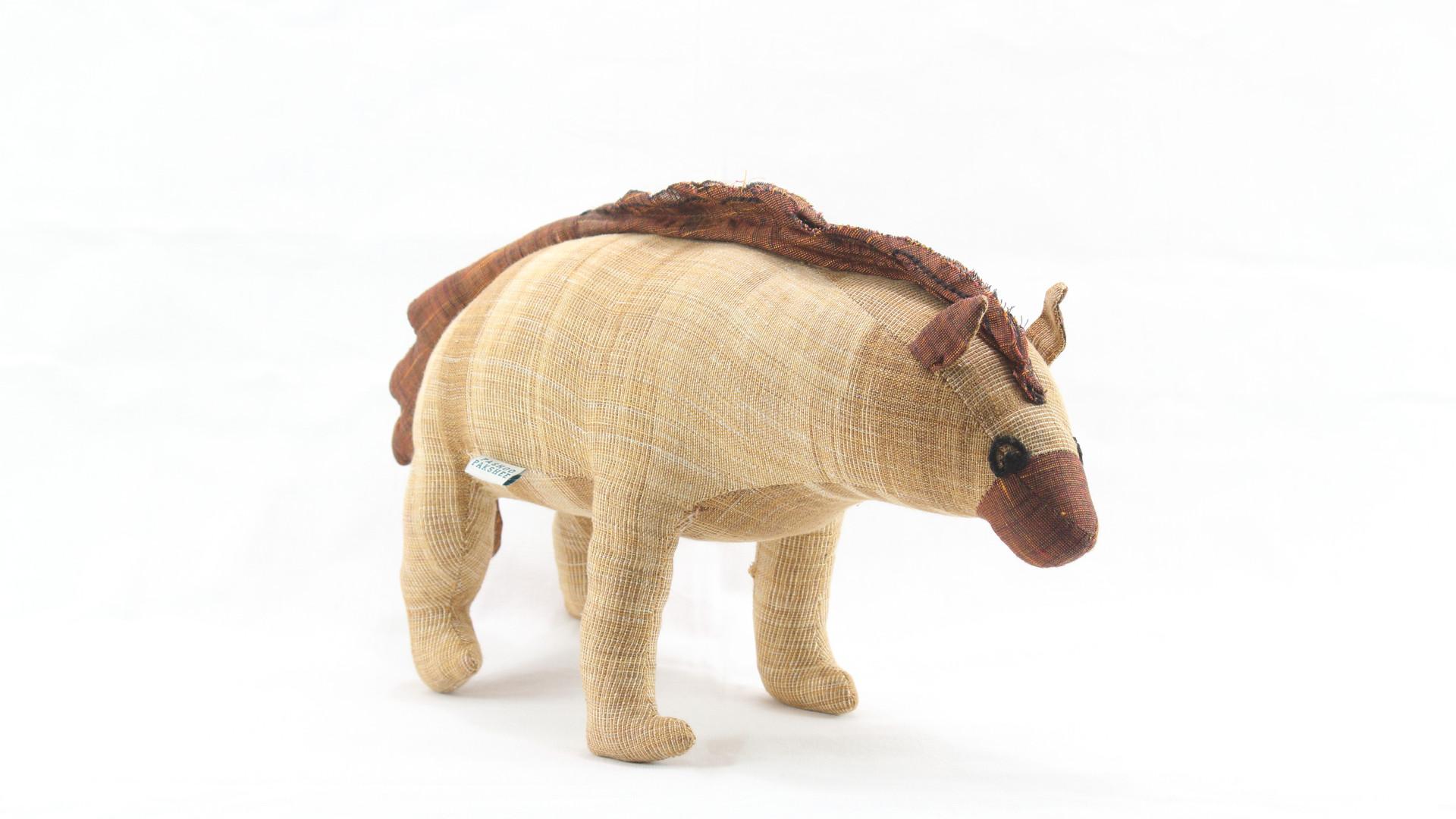 Striped Hyena Soft Toy