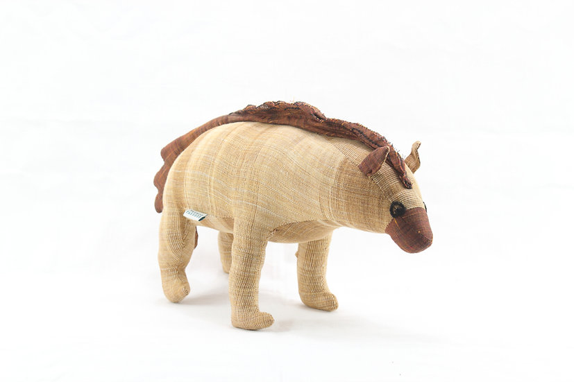Striped Hyena Soft Toy