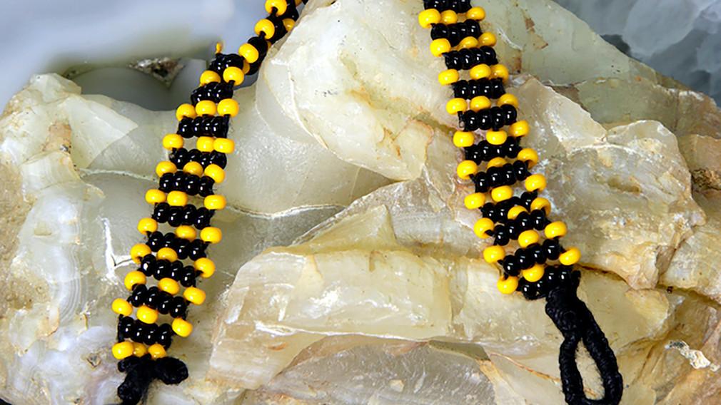 Baiga Bracelet for Men Yellow