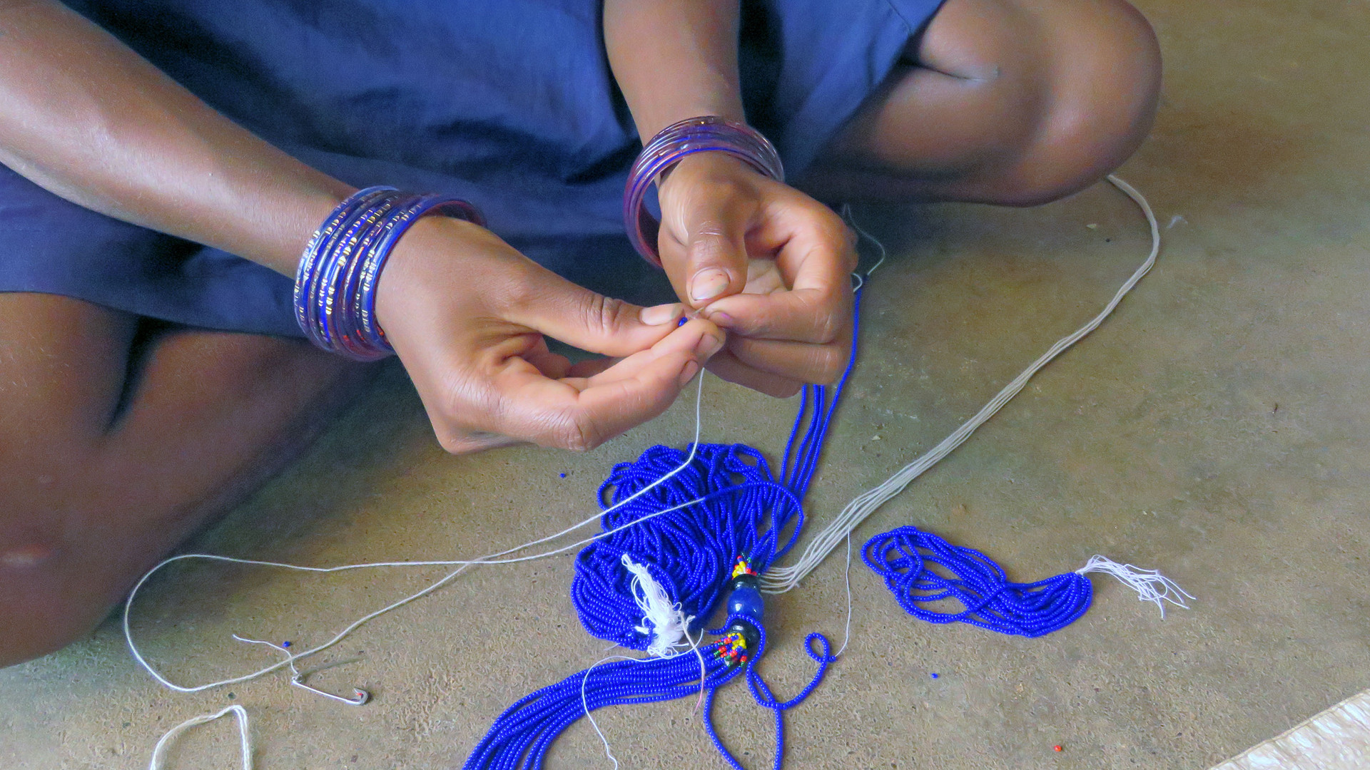 Making of Baiga Jewellery