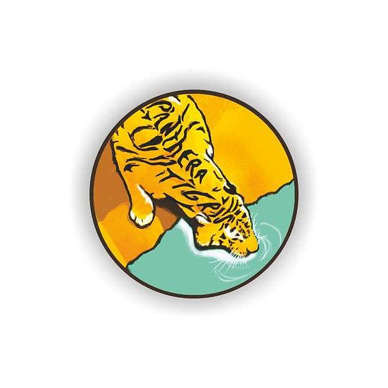 'Panthera Tigris' Tiger Fridge Magnet