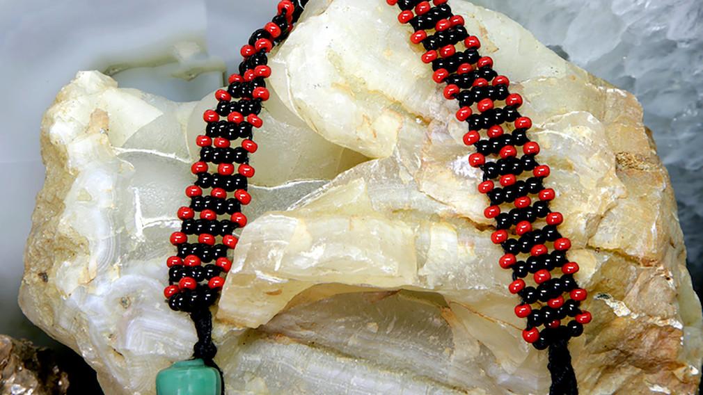 Baiga Bracelet for Men Red