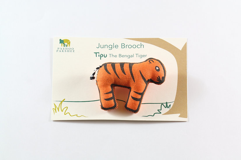 Tipu, the Bengal Tiger Brooch