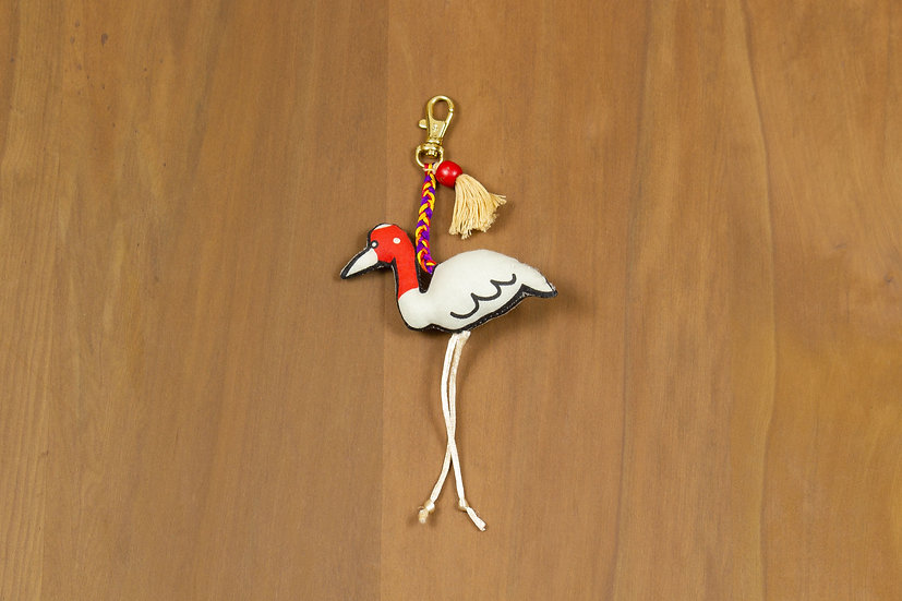 Saroj, the Saras Crane Charm