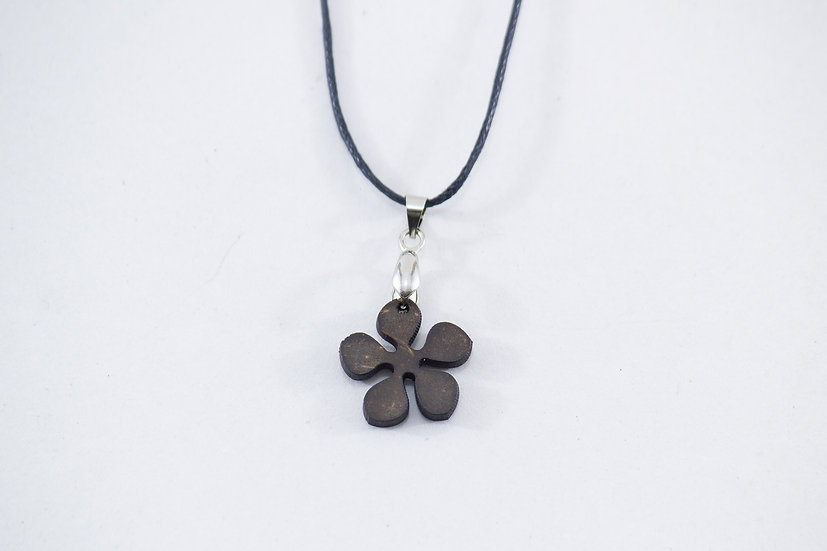 Flower Coconut Shell Pendant by EarthCare Designs Foundation