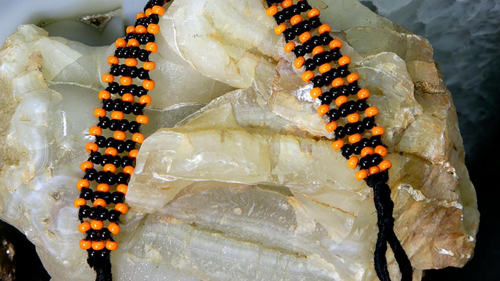 Baiga Bracelet for Men Orange