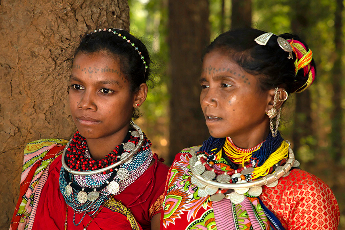 Baiga Tribe Women