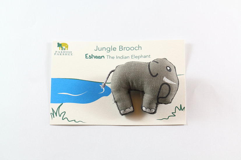 Eshaan, the Elephant Brooch