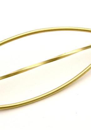 brooch gold 18K %22leave%22. JPG.JPG
