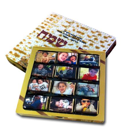 שוקולדים עם תמונה