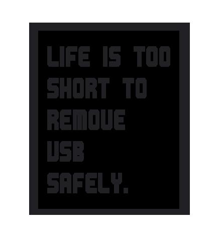 remove usb