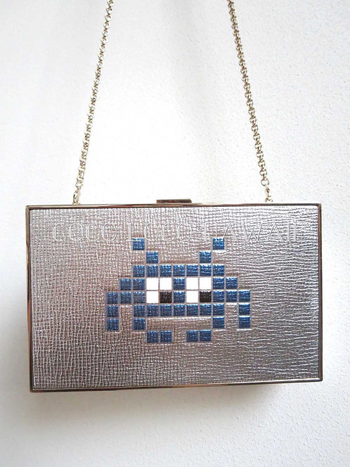 ANYA HINDMARCH アニヤハインドマーチ 2016 FALL-WINTER IMPERIAL SPACE INVADER クラッチバッグ ポシェット