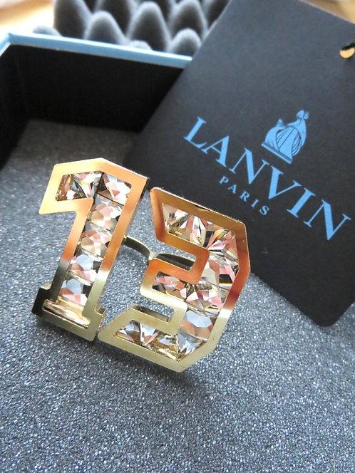 LANVIN ランバン|パリコレファーストライン|エンベリッシュド 13 モチーフ ダブルフィンガー リング