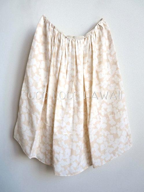 Chloe クロエ SPRING-SUMMER COLLECTION|フローラルシルエットパターン リボンディテール スカート