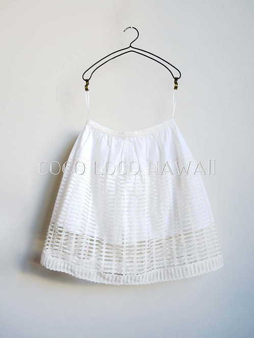 Chloe クロエ SPRING-SUMMER COLLECTION アイレットレース キュロットライニング スカート