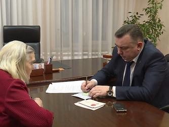 Депутаты принимают участие во Всероссийской неделе приёма граждан