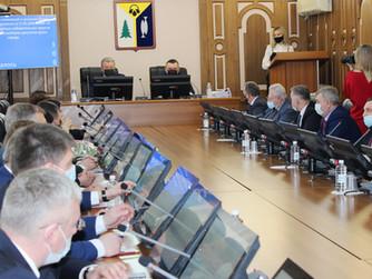 Решения приняты: сегодня прошло очередное заседание Думы Нижневартовска