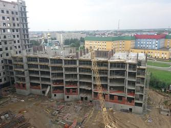 Строительство Центральной окружной больницы в Нижневартовске ведется с опережением графика