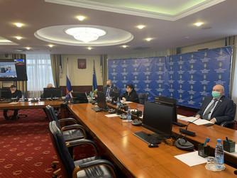 Состоялось 47-е заседание фракции «Единая Россия» в Думе Югры в режиме ВКС