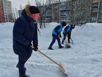 Волонтёры Нижневартовска участвуют в акции «Снежный десант»