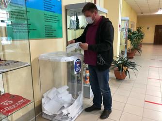 Работа счетных участков в Нижневартовске продолжается