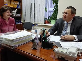 Василий Филипенко провел прием граждан в Ханты-Мансийске