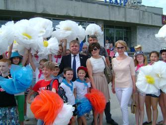 Флешмоб «Зеленая Россия» прошел в Нижневартовске