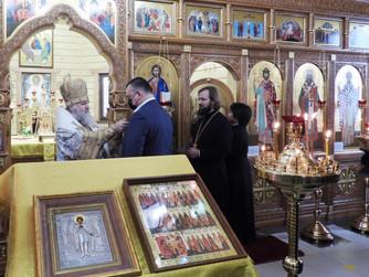 Митрополит Павел совершил богослужение в Нижневартовске