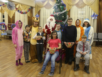 Ребята Центра детского и юношеского технического творчества получили подарки от Сергея Великого