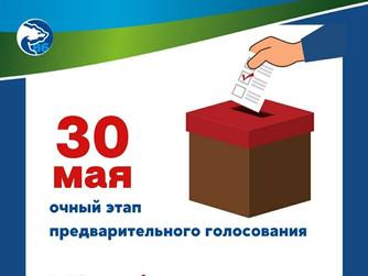 Список счётных участков для предварительного голосования
