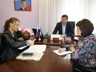 В общественной приемной местного отделения партии «Единая Россия»       г. Нижневартовска состоялся