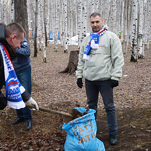 Всероссийский экологический субботник  - 2017