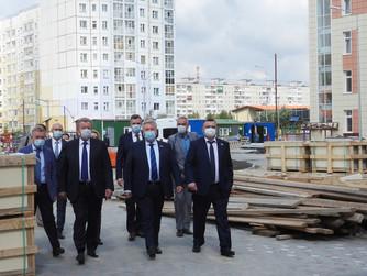 Строительство новой школы близится к завершению