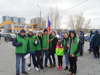 Клуб любителей бега благодарит депутата Алексея Андреева за помощь