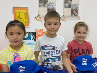 Нижневартовские единороссы организовали конкурс детских рисунков «Как я представляю мир»